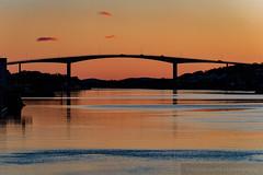 Brønnøysund (Ariane's world-of-photography) Tags: sundown landscape red water see norway canon sonnenuntergang landschaft meer outdoor