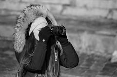 «At the lens sight» (nonnull) Tags: russia moscow people blackandwhite monotone bnwmood bnwfilm bnw bwfp streetphotobw bw monochrome noiretblanc filmphotography filmphoto filmisnotdead filmtype135 film analog 35mm ru pentax ilfordhp5plus400 ilfordhp5 pentaxmz7 streetphoto streetnotes printbypro barhatovcom noritsuls1100 grayscale россия москва люди город городскиезаметки фотопленка пленка чб чернобелое настроение чбфото grain street imaphotographer photographer girl woman winter 2018 observer smcpentaxfa80320mmf4556