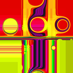 viewpoint II (j.p.yef) Tags: peterfey jpyef yef digitalart abstract abstrakt square red yellow