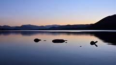 What a difference a week makes (moniquerebanks) Tags: ullswater serenity calm reflections lakedistrict cumbria lake lago worldheritage uk meer see hills horizon nature peaceful outdoors