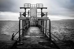 Blackrock Diving Board, Salthill, Co Galway (Val Beegan) Tags: westofireland irelandphotography irishsights galway salthillpromenade salthill blackrockdivingboard wildatlanticway ireland divingboard swim water atlanticocean