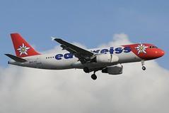 HB-IHZ (LIAM J McMANUS - Manchester Airport Photostream) Tags: hbihz edelweissair edelweiss wk 8r edw victoria airbus a320 320 airbusa320 manchester man egcc