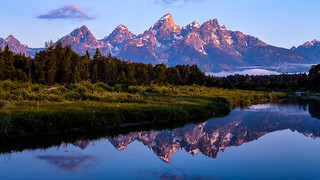 Tetons at Dawn