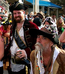 Pirates of Grand Cayman (miosoleegrant2) Tags: pirates coustumemenmanhairybutch men man guy male coustume outside butch hairy beard facialhair heman hunk muscle virle masculine macho port cruise vacation trip caribbean georgetown tourists grandcayman island
