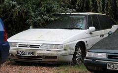 N350 VBL (Nivek.Old.Gold) Tags: 1995 citroen xm exclusive auto 1998cc turbo