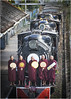 Blessed Train (channel packet) Tags: myanmar burma steam locomotives monks ceremony blessing bago davidhill