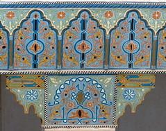 florale Muster-floral designs (Anke knipst) Tags: marokko morocco marrakesch hotel sanghoprivilege säule pilar