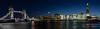 London Panoramic (Bards' POV) Tags: christopherbardenphotography pano panorama panoramic appicoftheweek water city bluehour buildings architecture skyscraper skyline clouds sky bridge thames riverthames theshard cityhall towerbridge toweroflondon towerhill london england greatbritain gb uk
