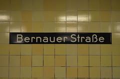 Bernauer (Andmtorres) Tags: berlim berlin alemanha alemania deutschland germany mitte metro bernauer street downtown europa invierno winter east side gallery