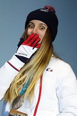 Surf des neiges - Snowboardcross femmes (France Olympique) Tags: 2018 coree games jeux jeuxolympiques jo korea olympic olympicgames olympics olympiques podium pyeongchang silvermedal south sport sud winter coréedusud