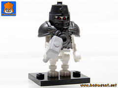 SKELETON ARMY 13 (baronsat) Tags: skeleton army lego minifig custom combo mix warriors battle undead magic game war knight tabletop