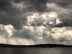 Taroona Sky (Keith Midson) Tags: ship boat derwent river water tasmania hobart sky taroona