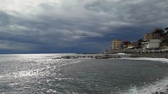 Cold winter colors (claudiaschmidt2) Tags: winter sea grey italy imperia