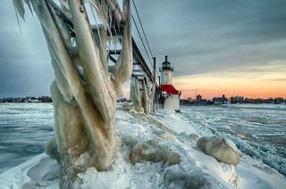 Sunset on ice #6