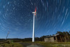 Circumpolar en A Gañidoira (breijar - MARCOS LOPEZ ALONSO) Tags: startrails estrellas stars trails eolico caseta sky cielo noche nigth