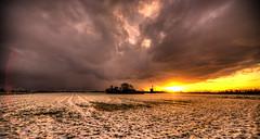 Storm clouds engulfing a Dutch mill. (Alex-de-Haas) Tags: 11mm aurorahdr d750 dutch grebmolen grebpolder hdr holland irix nederland nederlands netherlands nikon noordholland photomatix westfrisia westfriesland art artistic artistiek beautiful betoverend bevroren boerenland cloud clouds cold daglicht daylight desolate farmland fire flat frozen heaven hemel kou kunst landscape landschap licht light lucht mill molen mooi plat polder skies sky sneeuw snow sunrise verlaten vuur water winter wolk wolken wonderful zonsopgang