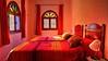 Dormitorio (zapicaña) Tags: zapigata casalinda xaouen chefchaouen chaouen marruecos maroc dormitorio bedroom bed ventana window travel viaje albergue auberge