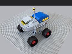 F-model U.T.E. (Universal Transport Expeditionary) (AFOL-anon) Tags: febrovery classic space lego rover ute