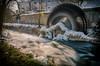 waterwheel (Christian Reteaca) Tags: ulm söflingen wasserrad blau waterwheel