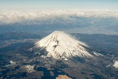 A different view of Fuji-san (Aresio) Tags: fujisan volcano landscape aerialphotography clouds