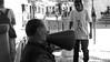 // Talk of the town Lisboa (CornerView) Tags: lisboa lisbon lissabon city black white talk old men local locals portugal travel friends