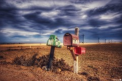 (CTfotomagik) Tags: dirtroad colorado northern nikon mailbox usmail field farm weldcounty postal lonely wideangle 1020mm