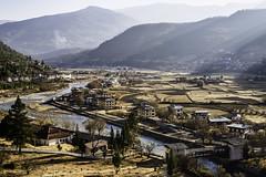 Overlooking Paro, Bhutan