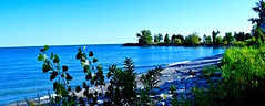 LATE AFTERNOON AT BLUFFER'S PARK, SCARBOROUGH, LAKE ONTARIO, CANADA, ACA PHOTO (alexanderrmarkovic) Tags: lateafternoonatblufferspark scarborough lakeontario canada acaphoto