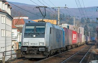 RuhrTalBahn (RTB) Container shuttle
