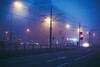 M O O D Y (ewitsoe) Tags: fog mist smog heavy air warsaw ochota winter morning pedestrian moody atmopsheric ewitsoe canon eos 6dii 50mm street urban cityscape wander lights cold chlly