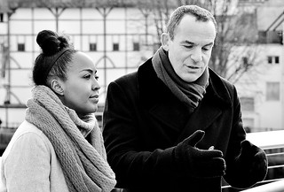 Angelica Bell And Martin Lewis, TV People