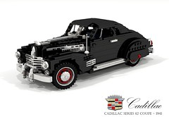 Cadillac 1941 Series 62 Coupe (lego911) Tags: cadillac 1941 1940s classic vintage series 62 coupe gm general motors auto car moc model miniland lego lego911 ldd render cad povray v8 usa america luxury foitsop