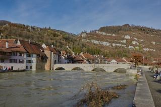 Saint Ursanne / Ueberschwemmung / Flood