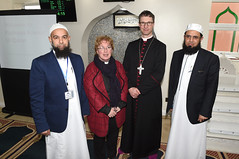 L/R Hafiz Mushtaq (ISSAP Principal), Rev Sheelagh Aston of St Silas Church, The Rt Rev Philip North, Bishop of Burnley and Imam Fazal Hassan, Muslim Chaplain for Royal Blackburn Hospital (blackburndiocese) Tags: archbishopofyork bishop bishopofblackburn julianhenderson philipnorth geoffpearson faith mission missionevent bible christ johnsentamu whalley kirkham blackburn blackpool garstang tunstall lancasterandmorecambe cathedral whalleyabbey poulton chorley leyland preston accrington burnley pendle vision2026 evangelism evangelist evangelising lectern pulpit pew procession crossroads crossroadsmission lancashirediocese newcastlediocese durhamdiocese yorkdiocese leedsdiocese sheffielddiocese southwellandnottsdiocese carlislediocese manchesterdiocese liverpooldiocese sodorandmandiocese chesterdiocese churchofenglandinlancashire churchofengland witness prayer jesus jesuschrist god holyspirit reformation crossroads2016 crossroadslancs messychurch messyeucharist eucharist eucharisticfestival cathedralcelebration
