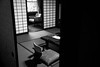 Our room at Yunoshimakan (Jean-François Chénier) Tags: gero gifu japan 下呂 岐阜 日本 yunoshimakan 湯の島感 bw blackandwhite monochrome
