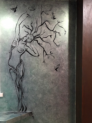 plastercore.co.uk Venetian Plastering & Design Stencil Tree