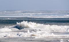 Frozen Sea 1 (genf) Tags: ijsschotsen ice floes kruiend ijs ijsselmeer marken sony a99ii sun zon dooi thaw outdoor nature sky natuur vorst frost
