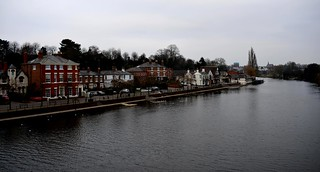 The River Dee Chester Sunday 14Th Jan 2018