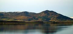 Reflection (stuartcroy) Tags: scotland hill scenery sea sky sony still reflection water weather winter beautiful blue bay