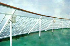 On Deck.. (sbox) Tags: ship deck rail painting painterly textures sky blue declanod sbox