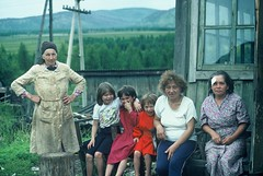 7h. A tough life for a family living in isolation in the Swamp region, eastern Siberia