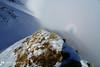 Presenza mistica (EmozionInUnClick - l'Avventuriero photographer) Tags: pescolletta sibillini cresta spettrodibrocken