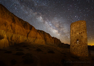 Water Tower and Milky Way