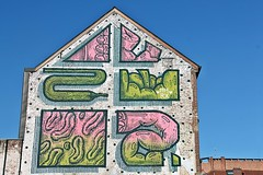 ❤HNRX❤ (just.Luc) Tags: hnrx urbanart streetart graffiti house maison huis haus green groen grün vert pink roze rosa rose mechelen malines vlaanderen flandres flanders belgië belgien belgique belgica belgium
