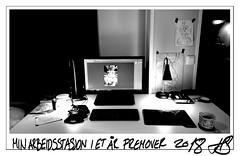 My Work-Station 2018 (hakonstokholm) Tags: workspace workstation blackandwhite bw love setup 4real norway