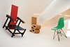 Miniature designer chair gallery (Wim van Bezouw) Tags: sony ilce7m2 chair design art rietveld gehry eames redandbluechair wigglechair object furniture