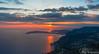 Coucher de soleil sur la riviera - 1 (JLPhotographies) Tags: coucher soleil riviera côte dazur sud france