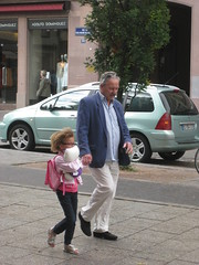An Afternoon Walk (PDX Bailey) Tags: street photography strasbourg france candid people father daughter stuffed toy