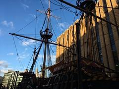 Mayflower (goforchris) Tags: mayflower ships historical southwark winter london