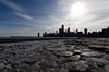 Chiberia (Josh Thompson) Tags: chicago d7000 ice northavebeach rocks sigma1020mmf456exdc skyline lightroom5
